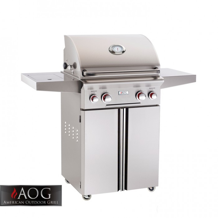 "AOG Grills 24"" T Series Portable Grill With Rotisserie System - 24PCT AOG Grills Collection"