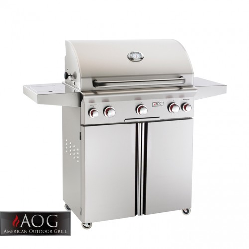 "AOG Grills 30"" T Series Portable Grill With Rotisserie System - 30PCT AOG Grills Collection"