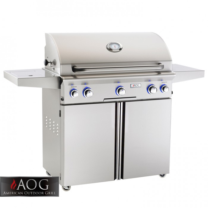 "AOG Grills 36"" L Series Portable Grill With Rotisserie System - 36PCL AOG Grills Collection"