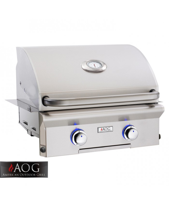 "AOG Grills 24"" L Series Built-In Grill - 24NBL-00SP"