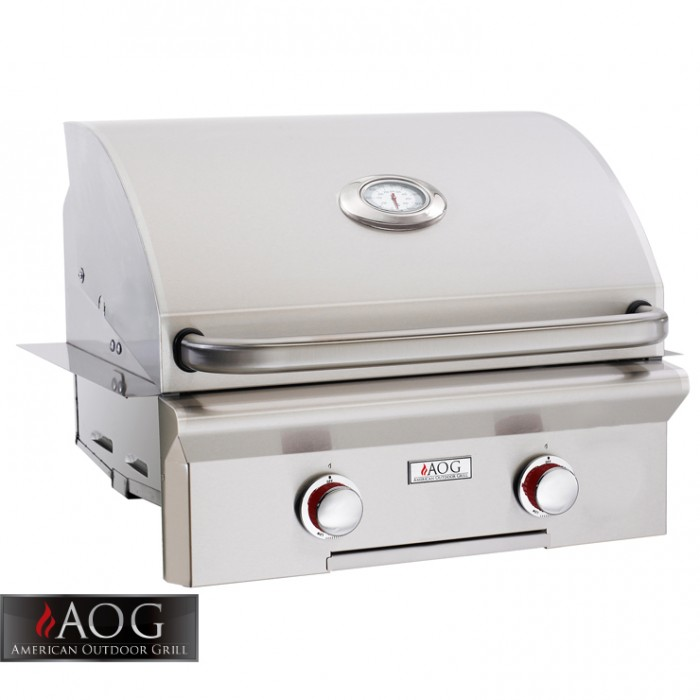 "AOG Grills 24"" T Series Built-In - 24NBT-00SP BBQ GRILLS"