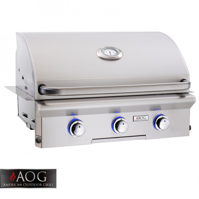 "AOG Grills 30"" L Series Built-In - 30NBL-00SP BBQ GRILLS"