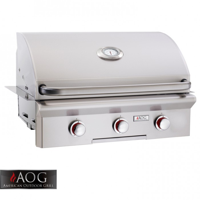 "AOG Grills 30"" T Series Built-In - 30NBT-00SP BBQ GRILLS"