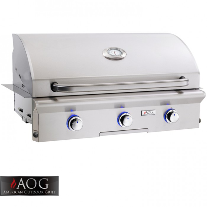 "AOG Grills 36"" L Series Built-In - 36NBL-00SP BBQ GRILLS"