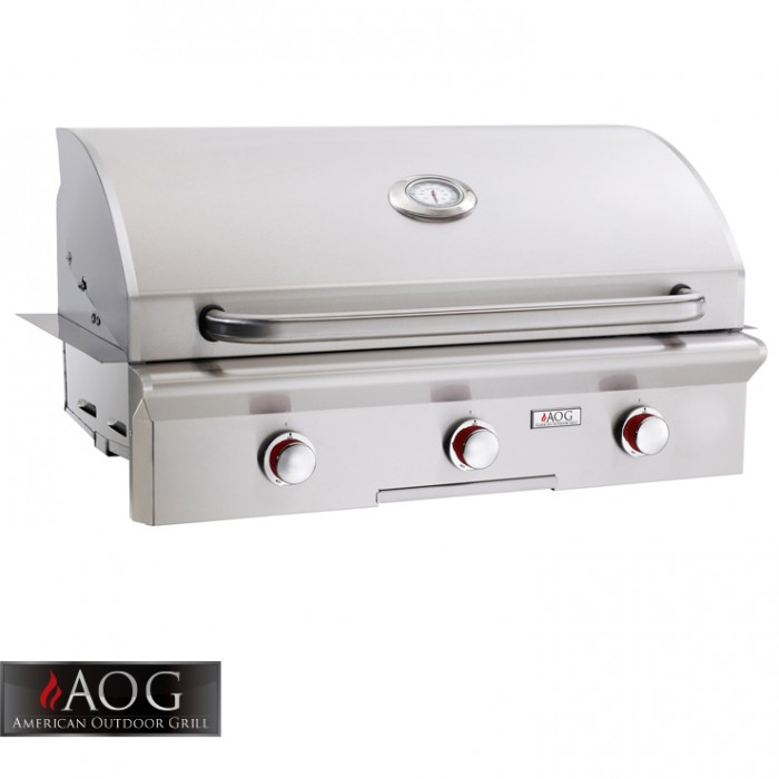"AOG Grills 36"" T Series Built-In - 36NBT-00SP BBQ GRILLS"