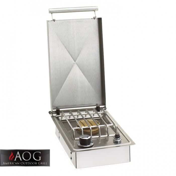 AOG Grills Built-In Single Side burner 15,000 Btu's - 3283N BBQ GRILLS