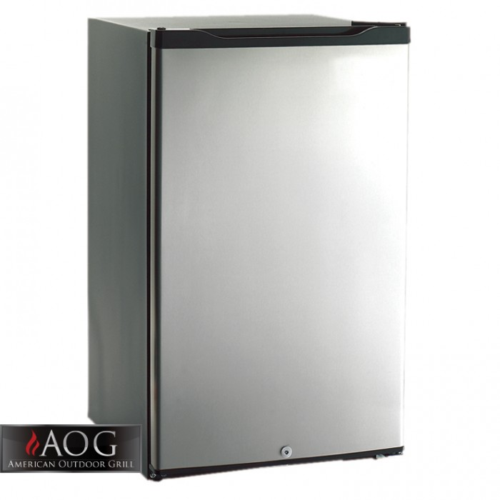 AOG Grills Refrigerator 4.2 Cubic Foot Below Counter - REF-20 BBQ GRILLS