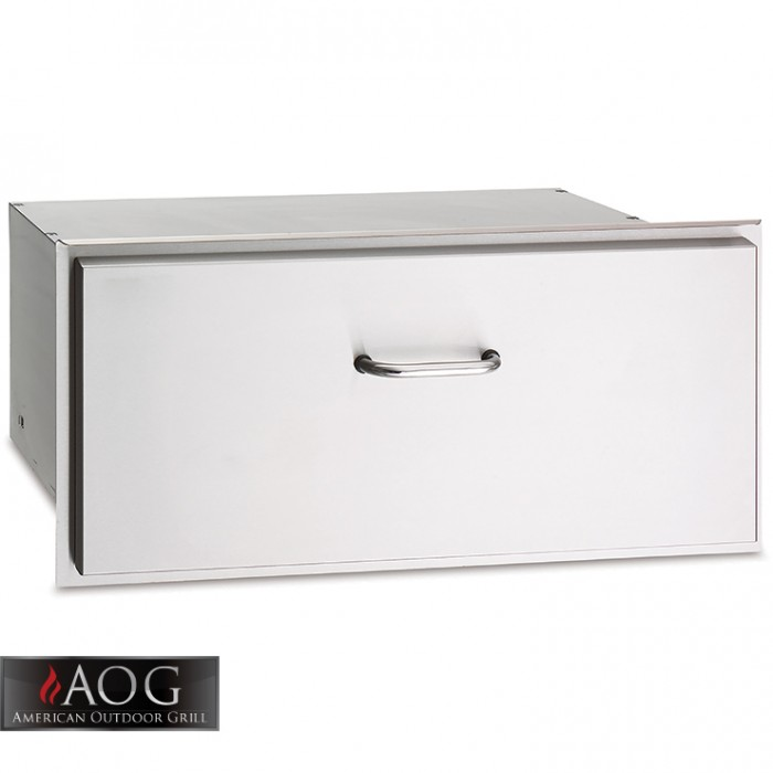 "AOG Grills DBL Wall Stainless Steel 30"" Drawer - 13-31-SSD BBQ GRILLS"
