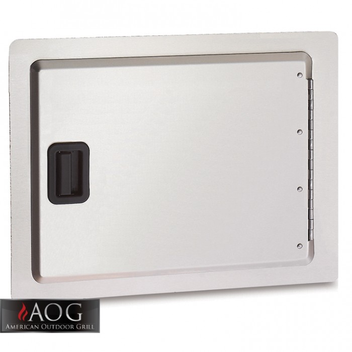 "AOG Grills Stainless Steel 14"" x 20"" Storage Door - 14-20-SD BBQ GRILLS"