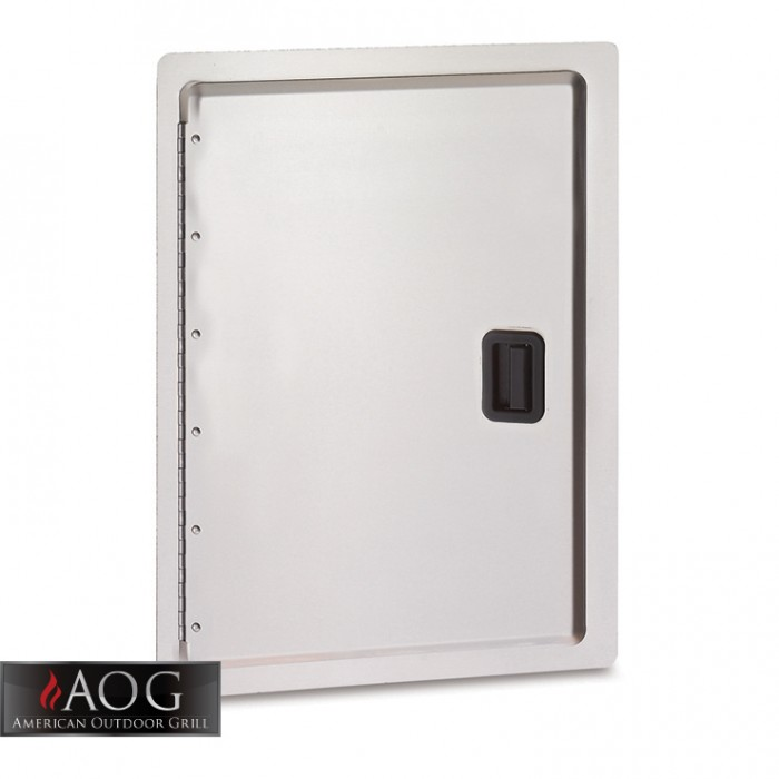 "AOG Grills Stainless Steel 18"" x 12"" Storage Door - 18-12-SD"