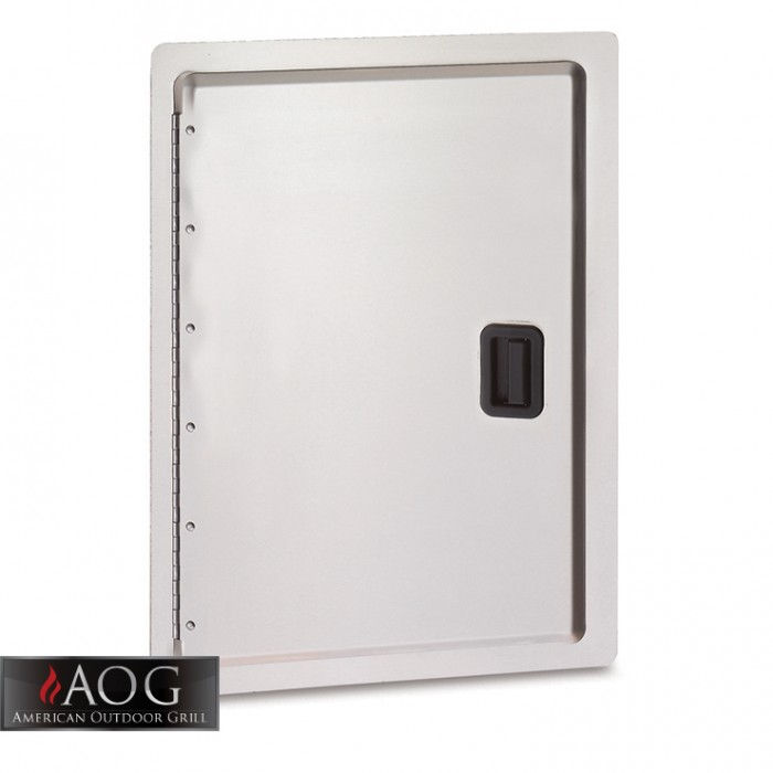 "AOG Grills Stainless Steel 20"" x 14"" Storage Door - 20-14-SD"