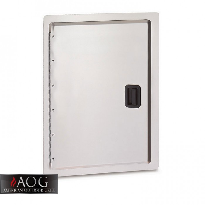 "AOG Grills Stainless Steel 24"" x 17"" Storage Door - 24-17-SD"