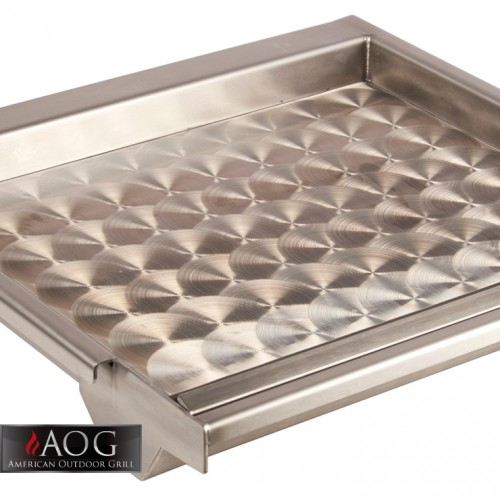 aog grills stainless steel griddle gr18