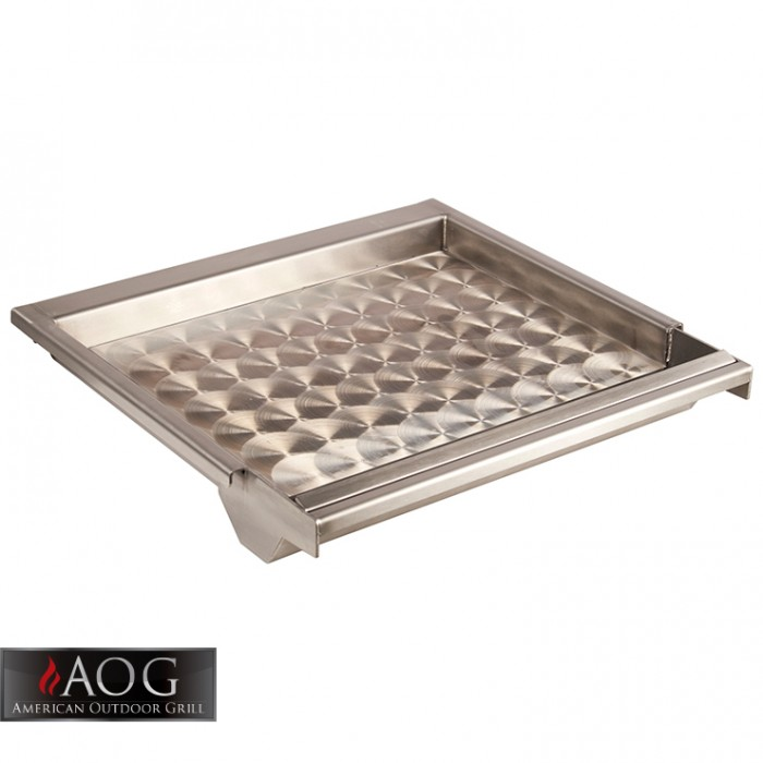 AOG Grills Stainless Steel Griddle - GR18 Outdoor Kitchen Accessories