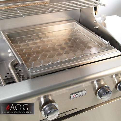 Outdoor Kitchen Accessories AOG Grills Stainless Steel Griddle - GR-18