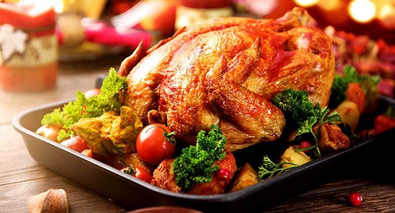 Citrus Brined Roasted Turkey