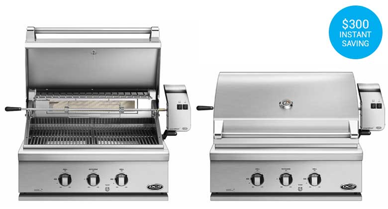 "DCS 30"" GRILL - BH1-30R PROVEN GRILL"