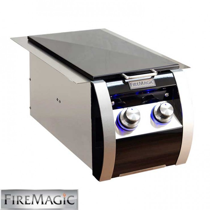 Fire Magic Black Diamond Edition Double Side Burner - 32814H BBQ GRILLS
