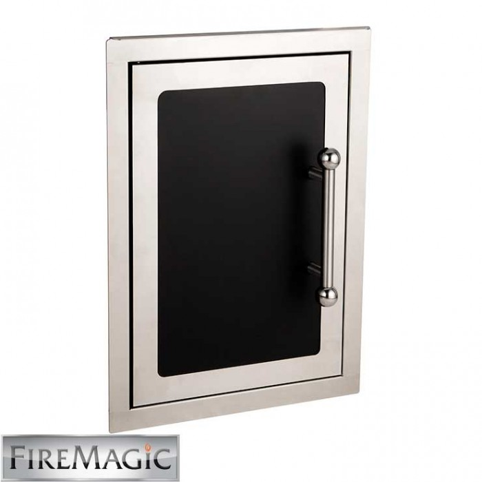 "Fire Magic Black Diamond Single Access Door, 21"" x 14 1/2"" - 53920HSC-L BBQ GRILLS"