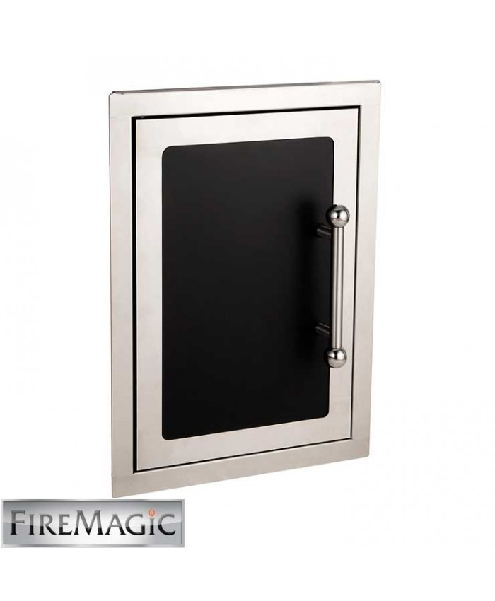 "Fire Magic Black Diamond Single Access Door, 21"" x 14 1/2"" - 53920HSC-L"