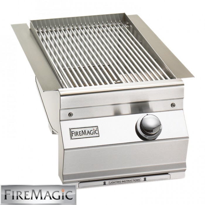 Fire Magic Searing Station/Side Burner - Aurora Style Built In - 3287L-1
