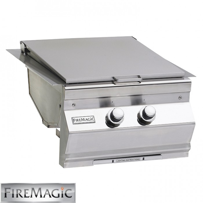 Fire Magic Double Searing Station/Aurora Style - Built In - 3288L-1 BBQ GRILLS