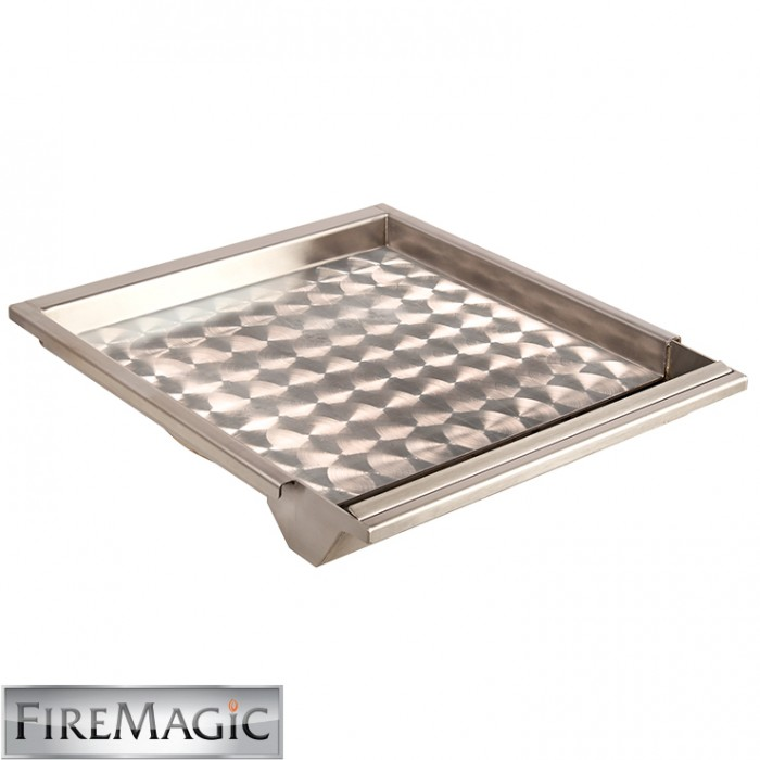 Fire Magic Stainless Steel Griddle (Echelon, A79, A66, A53, Pwr. Burner & Dbl. Searing Station) - 3516