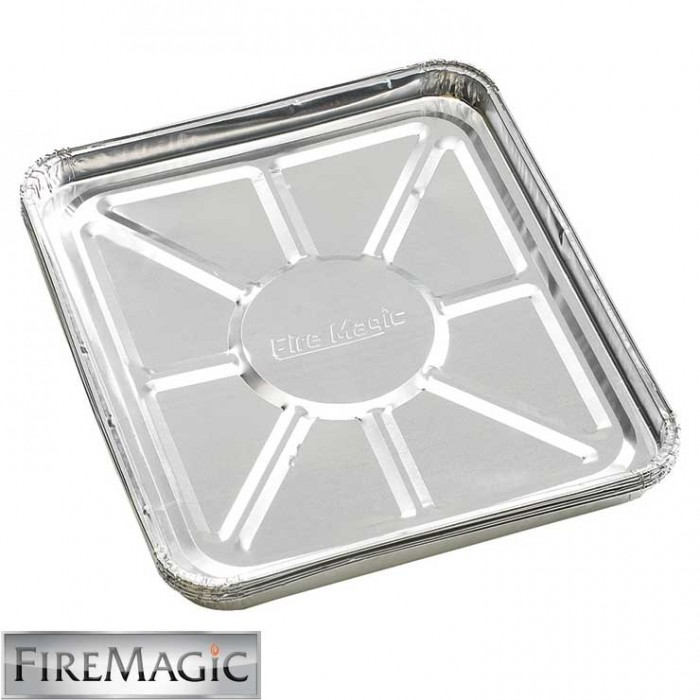 Fire Magic Foil Drip Tray Liners (Case of 12 Four Packs) - 3557-12