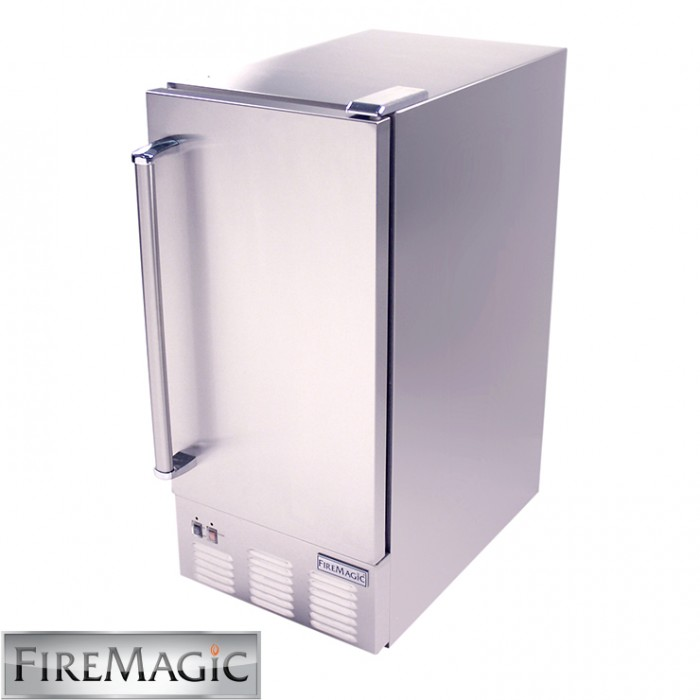 Fire Magic Ice Maker, Outdoor High Capacity - 3597 BBQ GRILLS