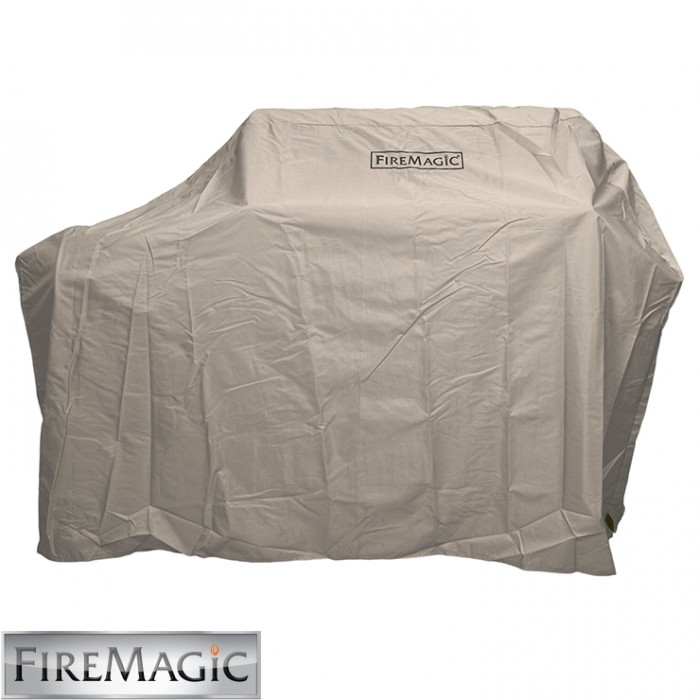 Fire Magic Grill Cover for Stand Alone w/Shelves Up (Side Burner) A53 - 5135-20F