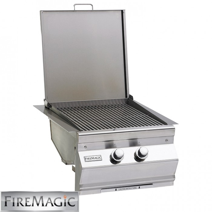 Fire Magic Double Searing Station/Side Burner - Built In - 3288-1 BBQ GRILLS