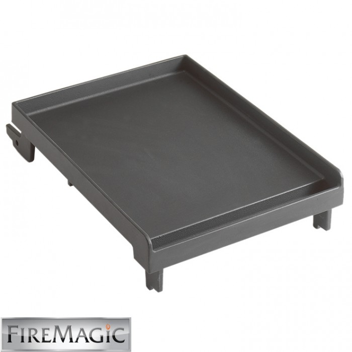 Fire Magic Porcelain Cast Iron Griddle, Single Side Burner - 3511