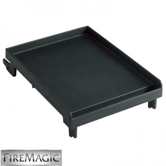 Fire Magic Porcelain Cast Iron Griddle, Single Side Burner - 3512A