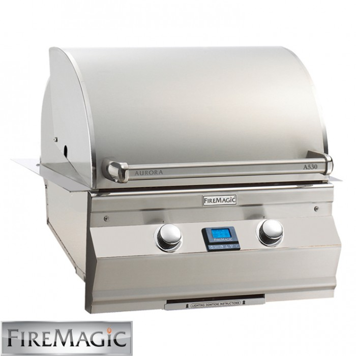 Fire Magic Aurora A530i Built In Grill - A530i5E1N BBQ GRILLS