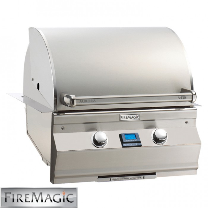 Fire Magic Aurora A430i Built In Grill - A430i5L1N BBQ GRILLS