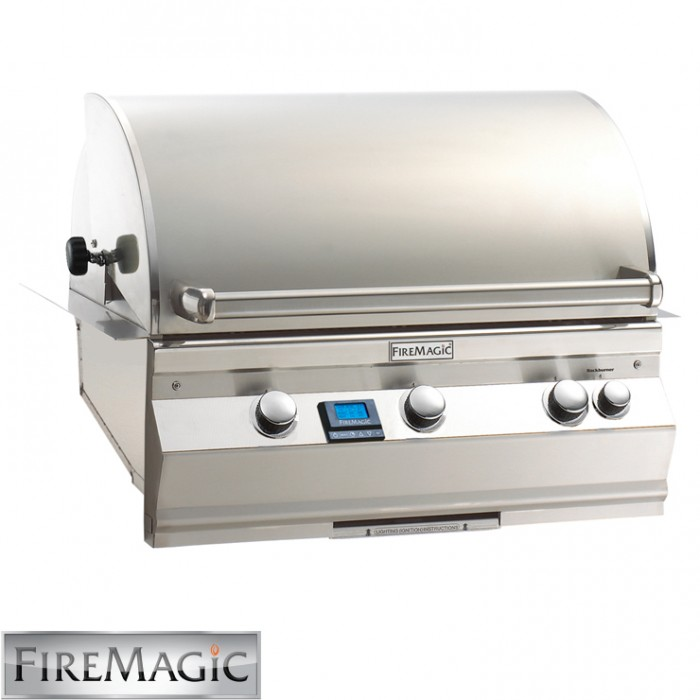 Fire Magic Aurora A540i Built In Grill With Rotisserie Kit - A540i6E1N BBQ GRILLS