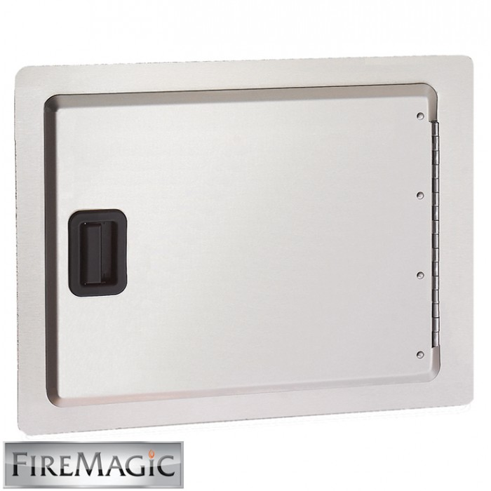 "Fire Magic Legacy Stainless Steel Single Access Door, 12 1/2"" x 18 1/2"" - 23912-S"