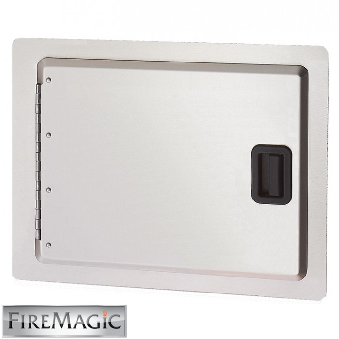 "Fire Magic Legacy Stainless Steel Single Access Door, 14 1/2"" x 20 1/2"" - 23914-S"