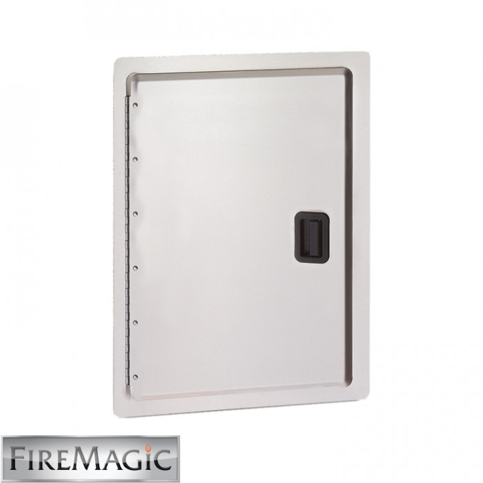 "Fire Magic Legacy Stainless Steel Single Access Door, Stainless Steel, 18 1/2"" x 12 1/2"" - 23918-S"