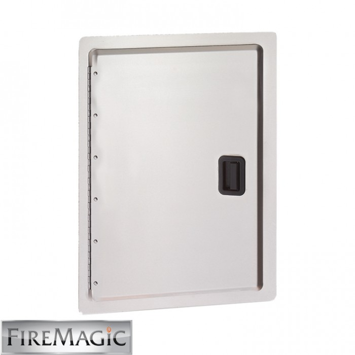 "Fire Magic Legacy Stainless Steel Single Access Door, 24 1/2"" x 17 1/2"" - 23924-S"