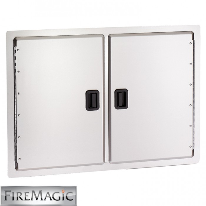 "Fire Magic Legacy Stainless Steel Double Access Doors, 20 1/2"" x 30"" - 23930-S"