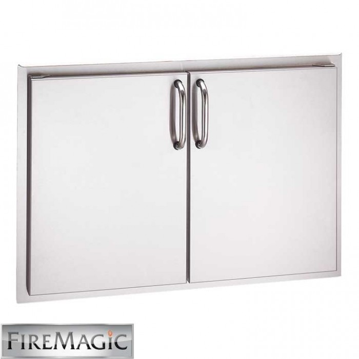 "Fire Magic Select Stainless Steel Double Door Access, 21"" x 30"" - 33930S"