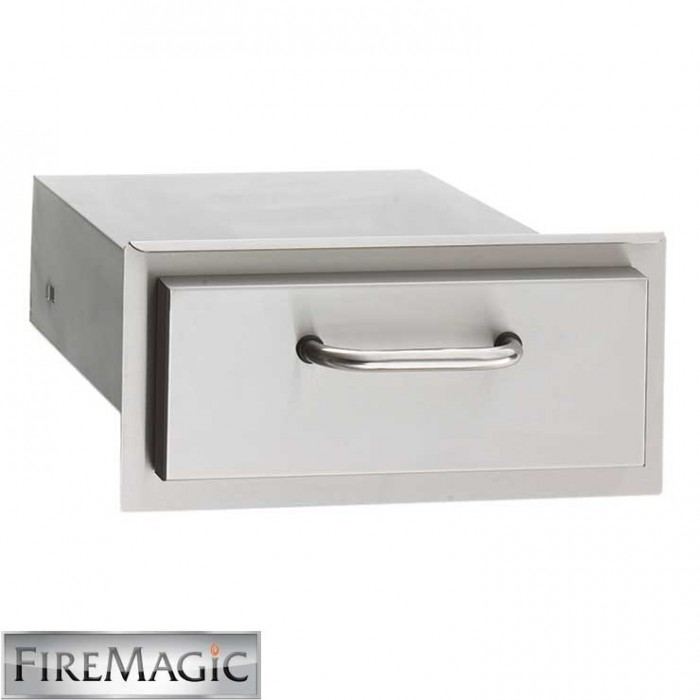 """Fire Magic Select Stainless Steel Single Drawer, 5 1/4"""" x 14 1/2"""" x 20 1/2"""" - 33801"""