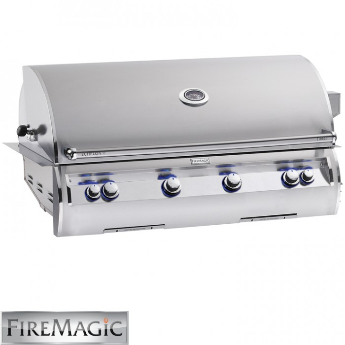 Fire Magic Echelon E1060i Built-In Grill with Analog Thermometer - E1060i-4EAN BBQ GRILLS