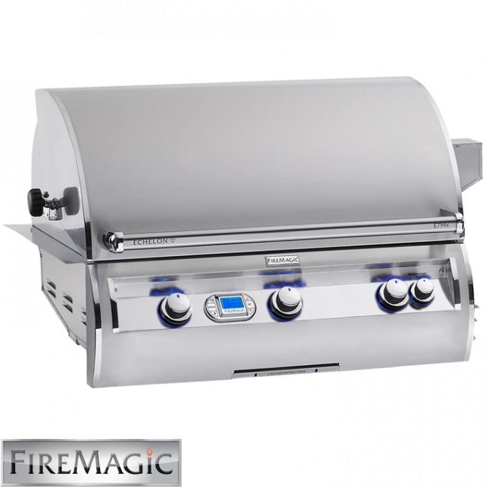 Fire Magic Echelon E790 Built-In Grill with Analog Thermometer - E790i-4E1N BBQ GRILLS