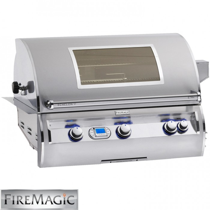 Fire Magic Echelon E790 Built In Grill - E790i-4E1NW BBQ GRILLS