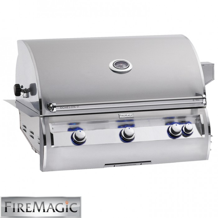 Fire Magic 'A' Series Echelon E790 Built In Grill - E790i-4LAN BBQ GRILLS