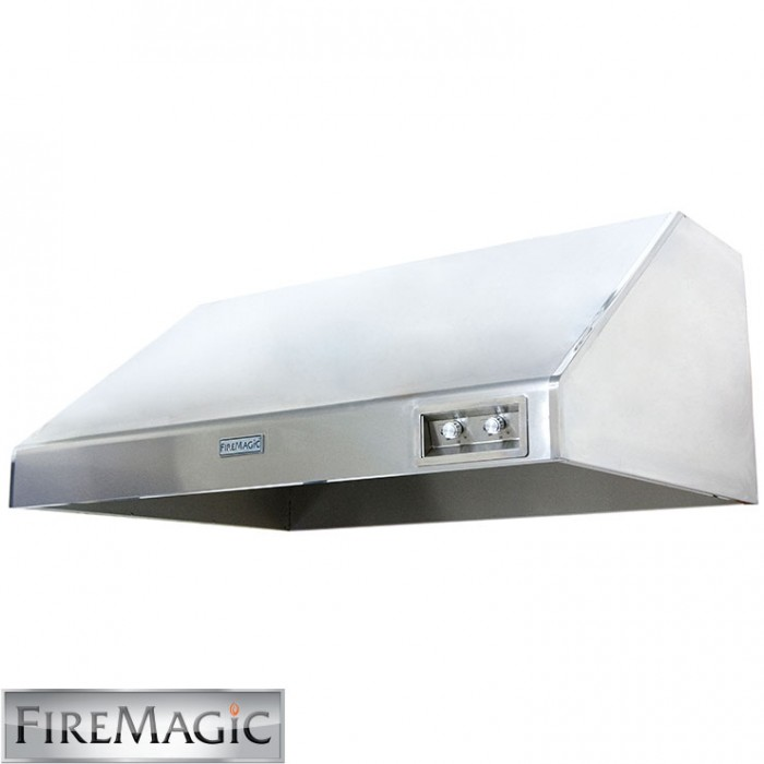"Fire Magic Vent Hood 48"" w/ fan (1200 CFM) - 48-VH-6"