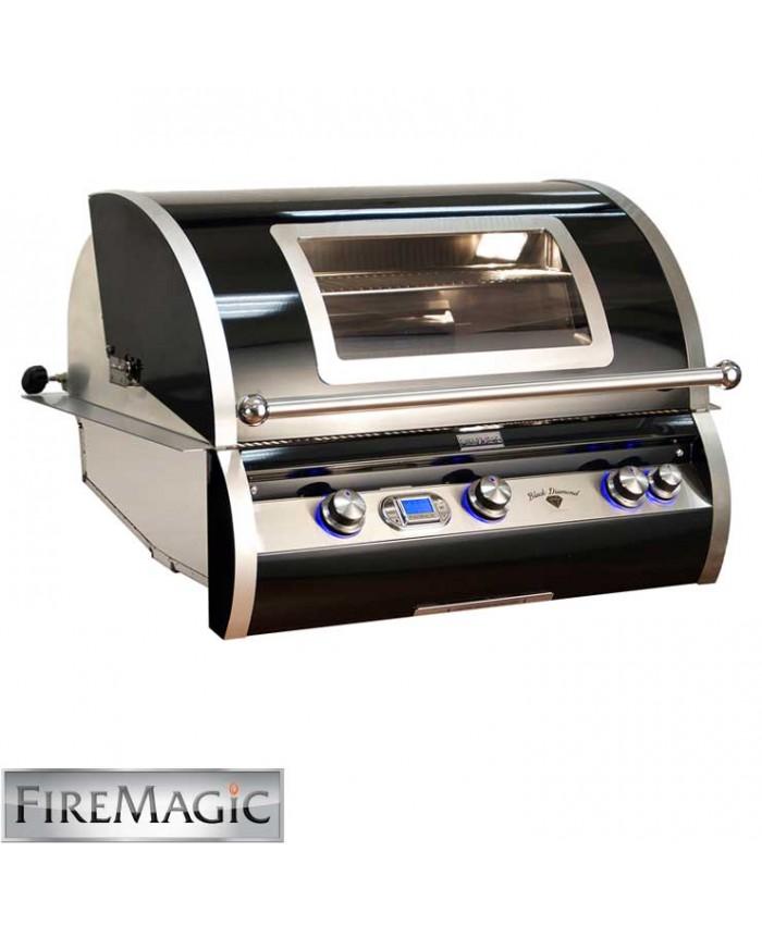 Fire Magic Black Diamond Edition Grill with Magic View Window - H790i-4E1N-W