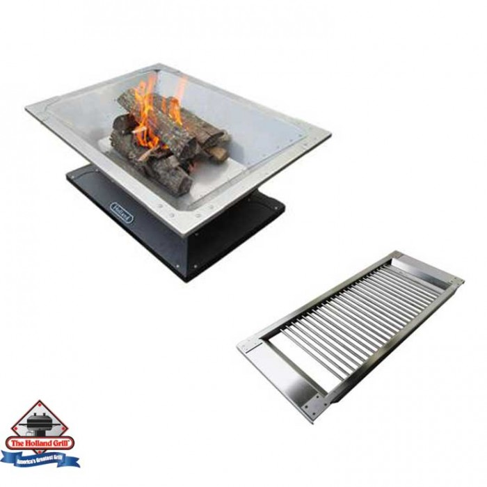 Holland Grills Caldera Wood-Burning Fire Pit With Cooking Rack Included - FP1-1064 / BHA6002 Holland Grills Collection